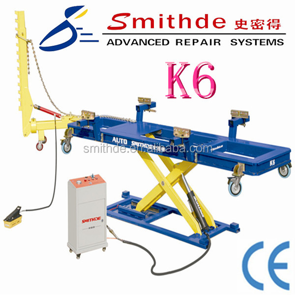 Yantai Smithde Most popular K6 auto body measuring system/auto bench(CE approved)