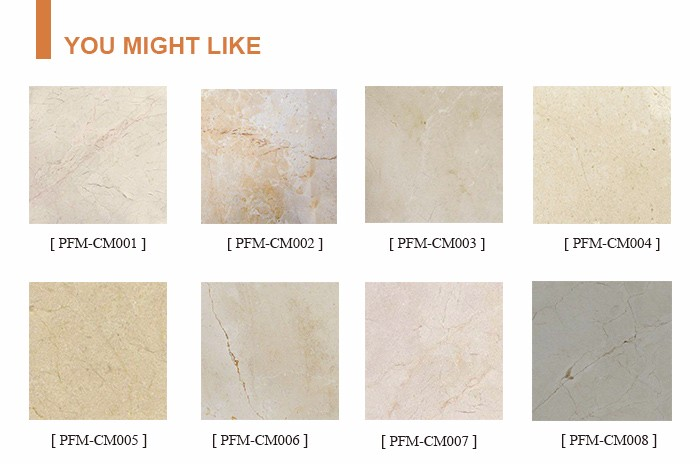 Cheap price Natural stone Spain Crema Marfil Marble For floor