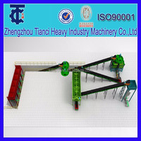Double Roller Extrusion granulator for no drying chemical fertilizer production line