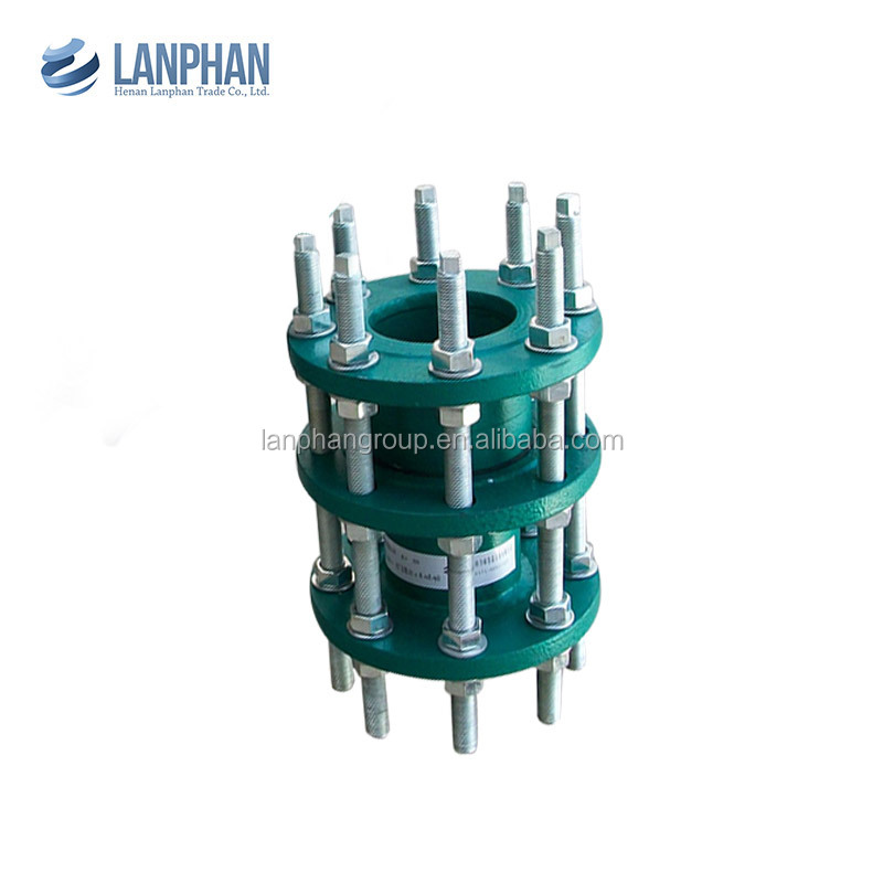 high pressure corrosion resistant transmission joint with double flanges