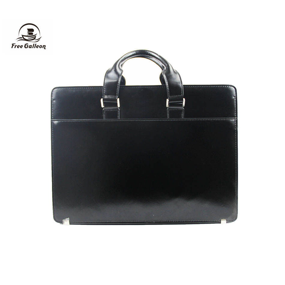 Handbag manufacturers in china with Italy style men leather office bags for layer men