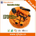 50FT Solid Garden Hose/Pipe Expanding Flexible No Extra Connector Required Garden Hose Reel With 8 Function Spray Gun
