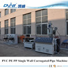 PP PE PVC exhaust flex pipe production line