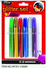15ml 6pk cosmetic glitter glue