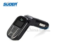 Suoer High Quality Multi-interface USB/SD Card/TF Card Car Cigarette Lighter MP3 Player with Remote Control