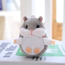 10cm Wholesale Cheap Mini Hamster Mouse Plush toy Animal Keychain Bag Decoration