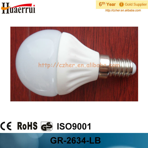 G45 Led ceramic bulb 3w 220-240v 2013 new product