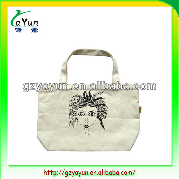 standard size cotton tote bag,cotton college bags girls,fashion cotton shopping bag