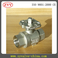 Stainless Steel small size ball valve 1/2 inch 4 inch