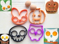 Most Modish Egg Mold Sets for Easter&Hallowmas Holiday Breakfast,Amazon Hot Egg Form Egg Shaper Egg Corral Silicone Egg Moulds