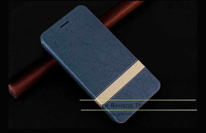 Custom Made Mobile Phone PU Leather Case Wallet Card Holder Cases Covers for Alcatel One Touch iDOL2/OT6037K