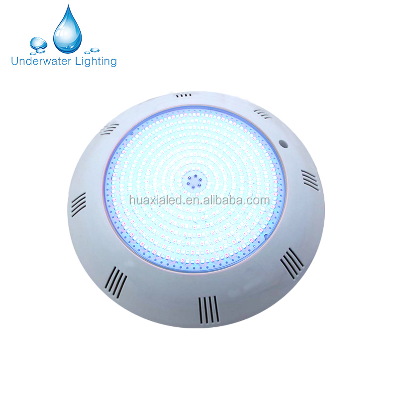 IP68 warm white 24W LED swimming pool underwater light for concrete pool