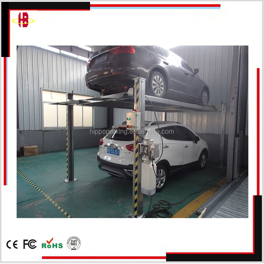 garage auto parking lifts, one cylinder hydraulic car parking lift