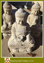 Natural stone carving antique buddha