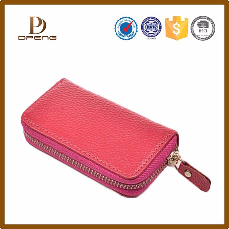 Wholesale Custom factory price excellent quality leather key ring holder