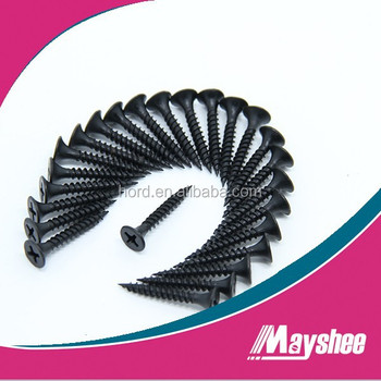 Bugle Head Black Phosphate Fine thread Drywall Screws