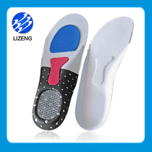 Hot sale silicone gel foot care products ortholite insoles eva shoe sole