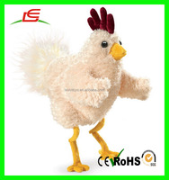 CE Lovely custom plush yellow chicken toy for sale