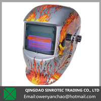 High specifications welding helmet decals