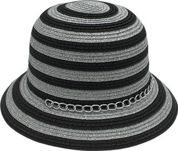 TW36-17Cloche Sun Hat For Women Paper Pleat Wholesale