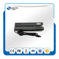 Hi-co Lo-co magnetic card reader / wrirter (Encoder ),complied with IS07811-7812 , supports 3 tracks ---MSR606