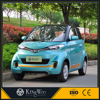 2 seats green car vehicle electric car automobile