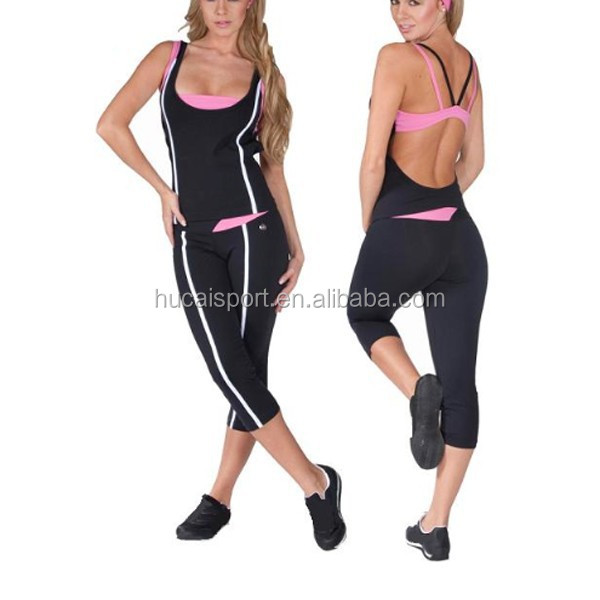 2015 Custom make Hot sale gym apparel/women's yoga wear/womens yoga clothing