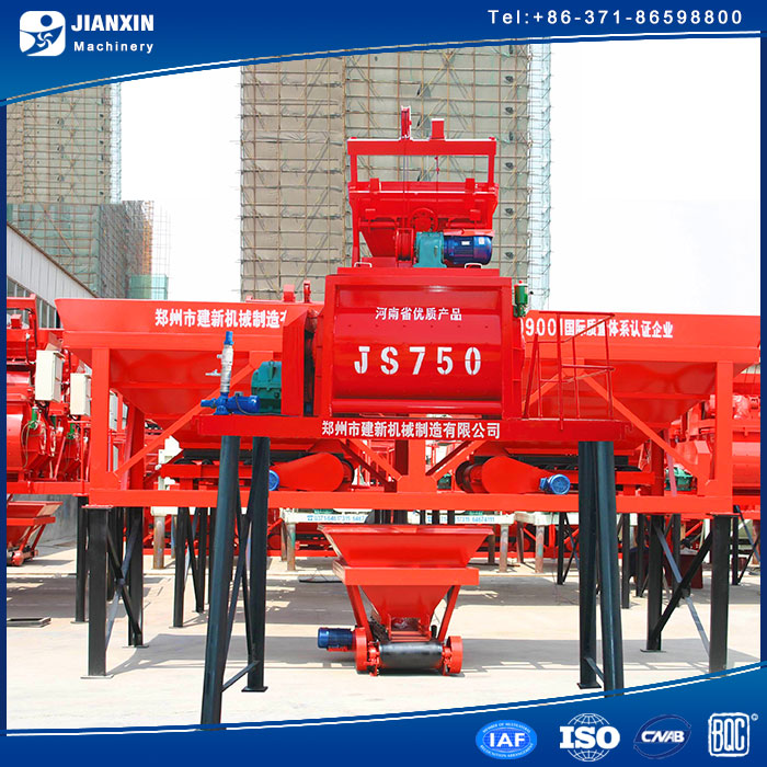high automatical degree foam concrete mixer