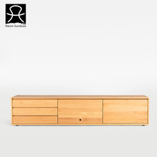 Living room furniture modern design wooden TV cabinet with drawers tv stand