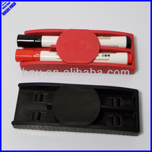 Quality 14.2cm whiteboard eraser with pen holder