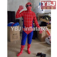 2015 Cosplay spiderman costume for adults spider-man mascot costume