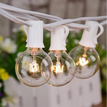 UL Garden Wedding Party decorative string lights globe G40 patio string lights