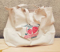 branded cheap cotton bag/ quilted fabric tote bags/ cloth tote bag