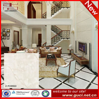 alpha artificial marble floor tiles with white marble tiles