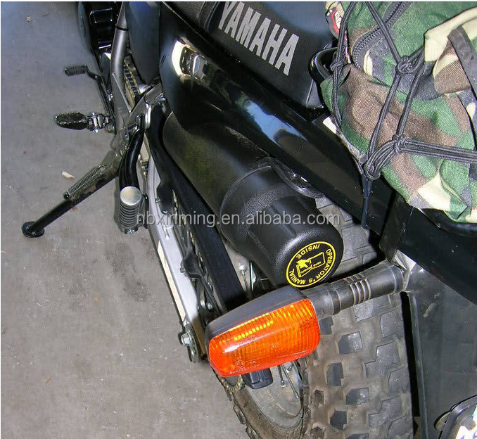 Motorcyle tool tube / farm machinery manual holder