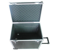 flight case aluminum trolley with playing card and dice and dealer,logo print,chips card set