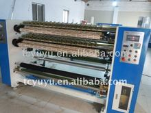 YU-211Air pressure bopp film cutting and rewinding machine/auto labeling cutting machine