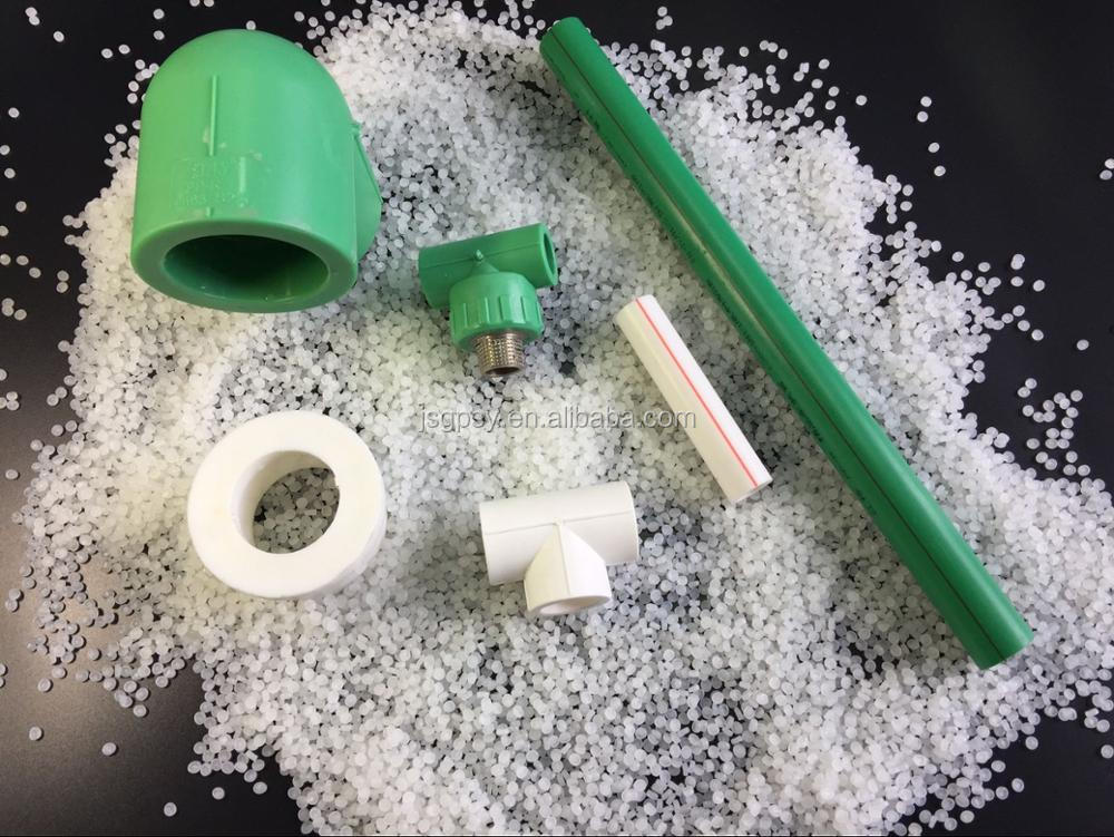 copolymer polypropylene resin ppr pipe pprc raw material DIN8077 and DIN8078 German standard