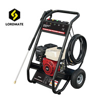7HP Gasoline engine high pressure cold water power washer 200bar