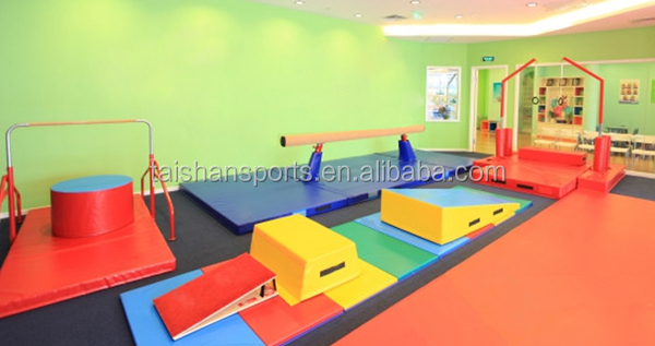 Baby gym, foam modules,indoor gymnastic,kids play ,wedge,block,inclines,Hot sale gymnastics