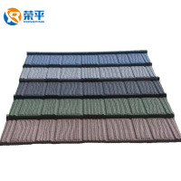 hot sale color stone coated steel roofing sheet china supplier terracotta color stone coated metal roof tile