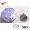 High quality SILVER metal denim jeans shank button for jeans