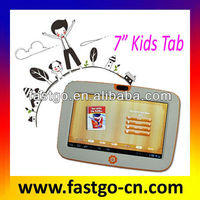 Hottest school android kids pad promotion and special software for parents controlling the playing time