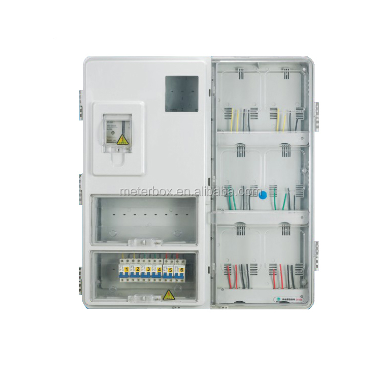 Electrical meter box outdoor power boxes main switch box ip67 waterproof supply