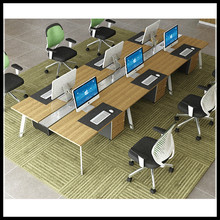 BT-232 New design high quality 4 person particle staff desk,Particle Office Table,Office workstation