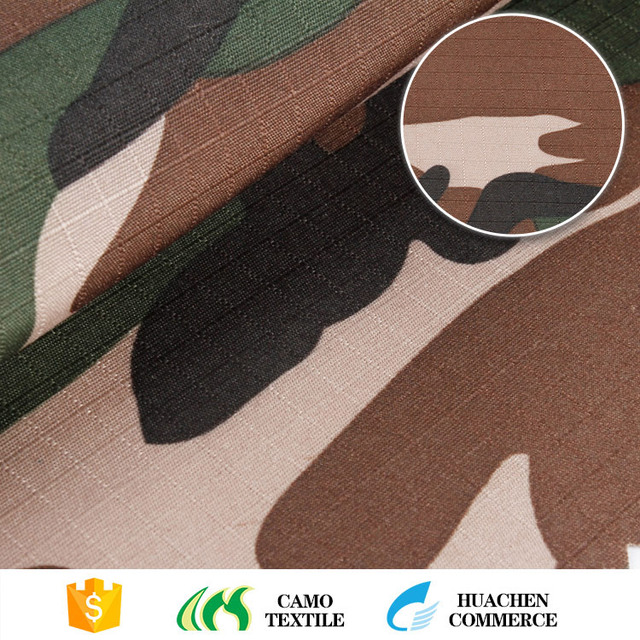 best selling china manufacturer suit camouflage ripstop woven polyester printed fabric military
