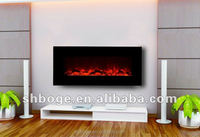 CE passed good quality electric wall hanging indoor used fireplaces