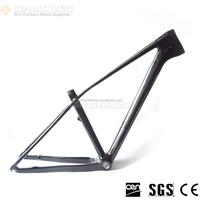 China fashion carbon mtb frame 26er,3K/UD finish hard tail mountain bike frame CFM0B2