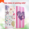 Fashion design high relief leather+TPU case for Samsung J5