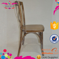 Wholesale wedding chairs and tables wood cross back chair